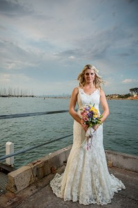 Glamour wedding photography