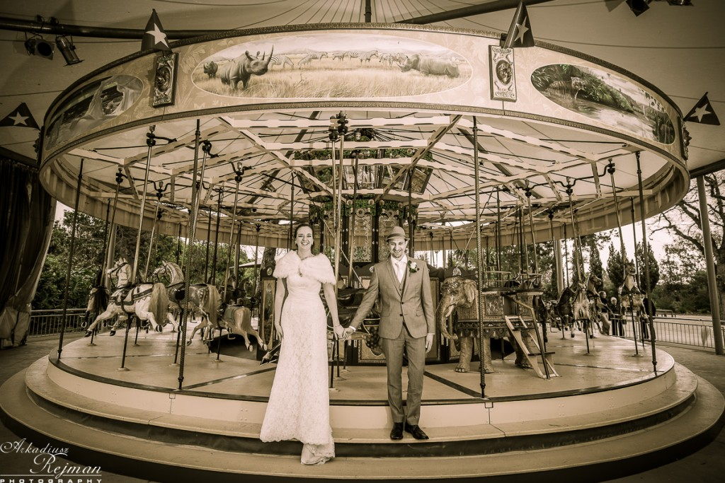 Bride and Groom Melbourne ZOO classics