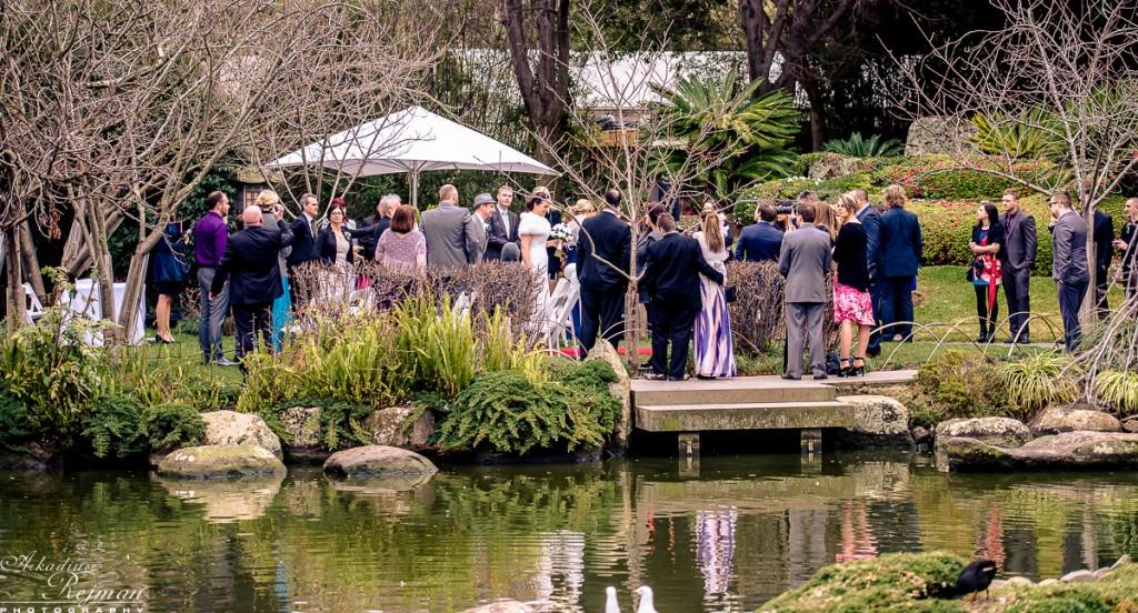 Japanese Garden Wedding Melbourne Zoo