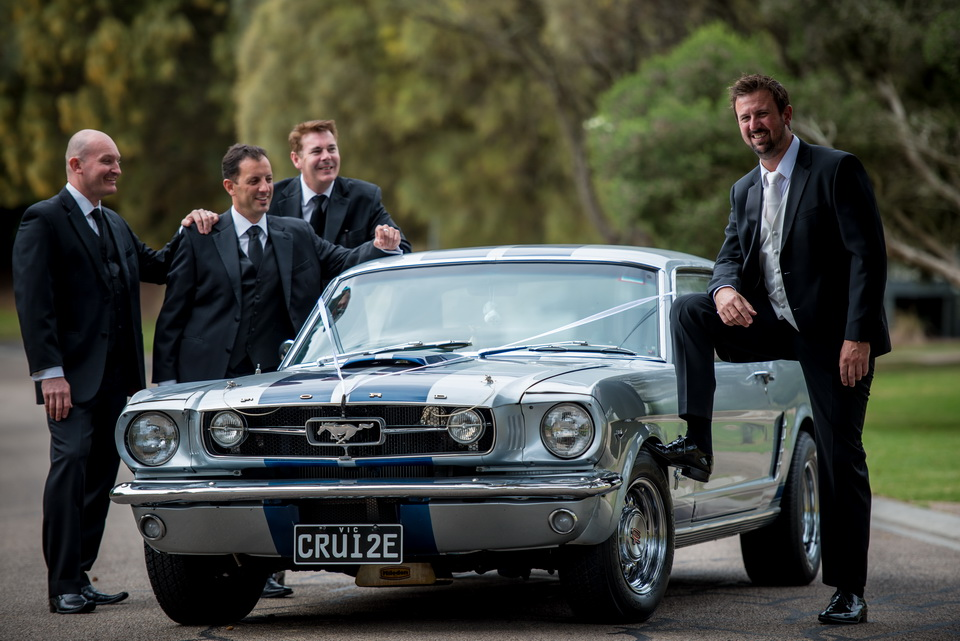 Mustang and The Groom