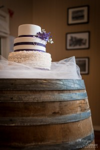 Wedding Cake in country style