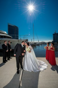 Docklands wedding